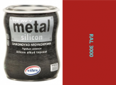 Vitex Heavy Metal Silikon - alkyd RAL 3000 750ml